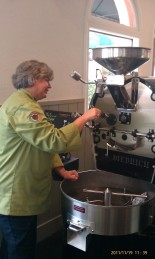 Roasting Coffee Beans - it doesn't get any fresher