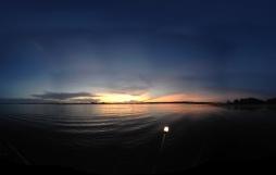 Panorama using an iPhone app called 360